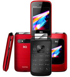 Мобильный телефон BQ 2814 Shell Duo Красный