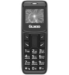 Мобильный телефон OLMIO A02 Черный