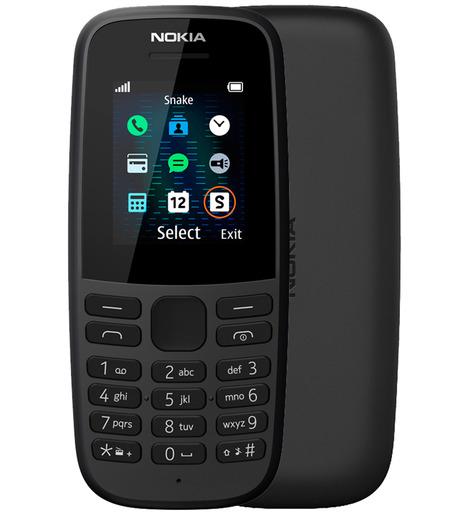 Мобильный телефон Nokia 105 DS Черный