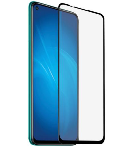 Защитное стекло DF для Xiaomi Redmi Note 9 (black)