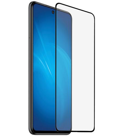 Защитное стекло DF для Xiaomi Redmi Note 9S/Note 9 Pro/9 Pro Max (black)