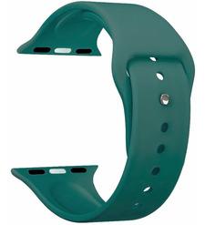 Ремешок Band Silicone для Apple Watch 38/40 mm, силиконовый, зеленый, Deppa