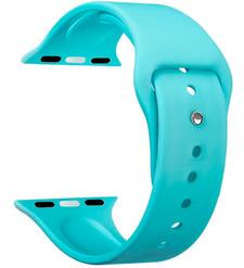 Ремешок Band Silicone для Apple Watch 42/44 mm, силиконовый, мятный, Deppa