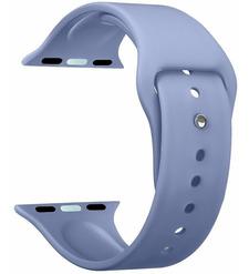 Ремешок Band Silicone для Apple Watch 42/44 mm, силиконовый, лавандовый, Deppa