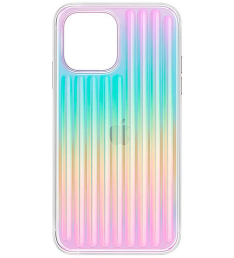 Чехол Uniq для iPhone 12 mini (5.4) COEHL Linear Iridescent