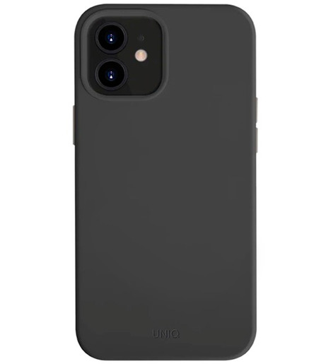 Чехол Uniq для iPhone 12 mini (5.4) LINO Black