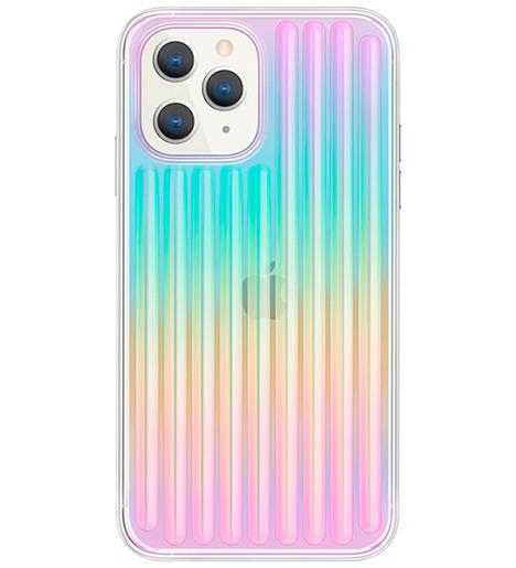 Чехол Uniq для iPhone 12 Pro Max (6.7) COEHL Linear Iridescent