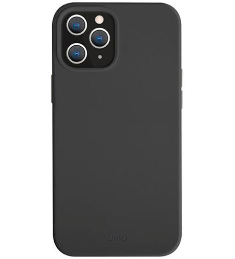 Чехол Uniq для iPhone 12 Pro Max (6.7) LINO Black