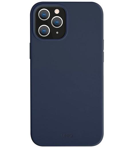 Чехол Uniq для iPhone 12 Pro Max (6.7) LINO Blue