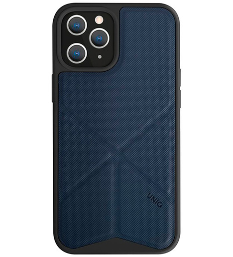 Чехол Uniq для iPhone 12 Pro Max (6.7) Transforma Blue