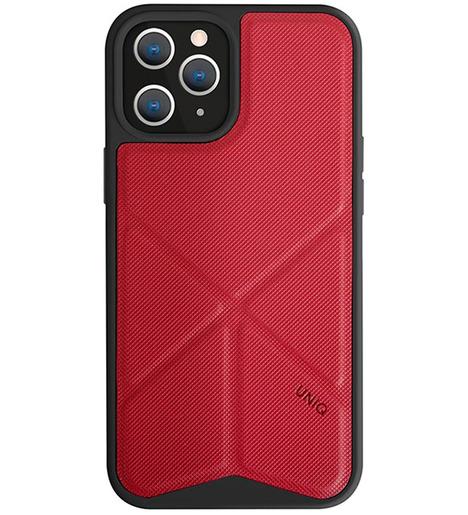 Чехол Uniq для iPhone 12 Pro Max (6.7) Transforma Red