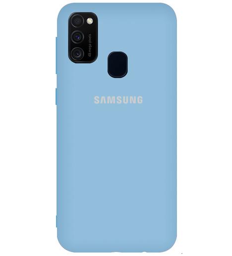 Чехол однотонный для Samsung M21 (M215f)/M30S (lilac purple)