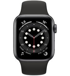 Смарт-часы Apple Watch Series 6 40mm Серый космос алюминий