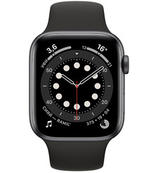 Смарт-часы Apple Watch Series 6 44mm Серый космос алюминий