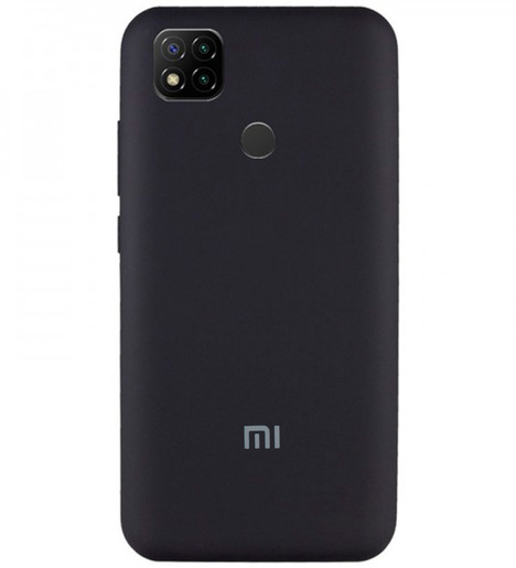Чехол Silicone case для Xiaomi RedMi 9C 2020 (black)