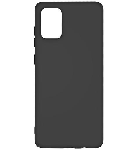 Чехол силиконовый DF для Samsung Galaxy A02S (black)