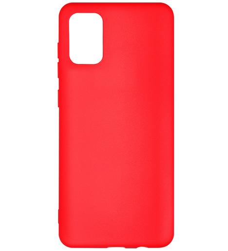 Чехол силиконовый DF для Samsung Galaxy A02S (red)