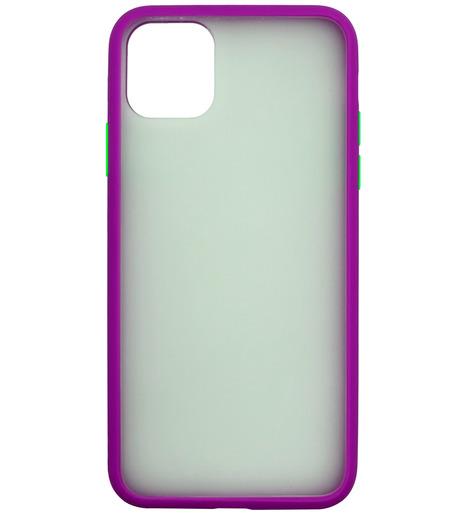 Накладка Zibelino Plastic Matte для Apple iPhone 11 Pro (фиолетовый)