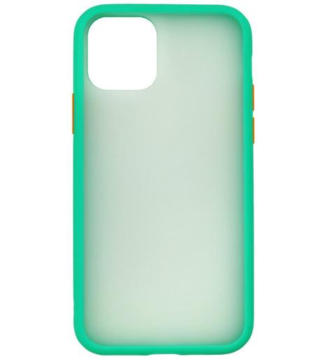 Накладка Zibelino Plastic Matte для Apple iPhone 11 Pro Max (бирюзовый)