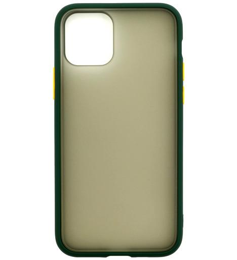 Накладка Zibelino Plastic Matte для Apple iPhone 11 Pro Max (зеленый)